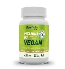 Vitamina D3 Vegan - 280mg (60 caps)