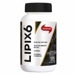 Lipix 6 (120 Cápsulas) - Vitafor